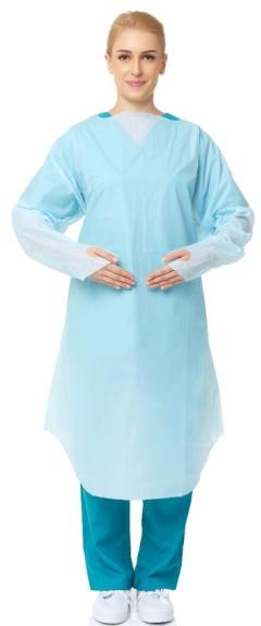 Primeon Impervious Gown - Thumb Hook -  Regular(Pkt 15)
