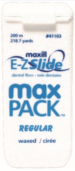 E-Z SLIDE FLOSS MAX PACK FLOSS REGULAR (200m)