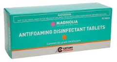 Antifoaming disinfectant tablets (Pkt 50)