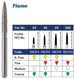 FG Diamond Bur Flame