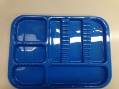 N651 DIVIDED TRAY - BLUE