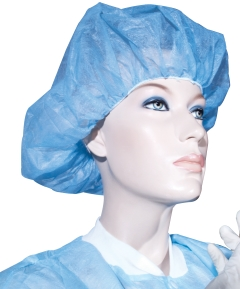 UNI BASTION BOUFFANT HAT BLUE - 21'