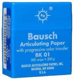 BAUSCH BK01 BLUE PLASTIC DISPENSER  300 STRIPS EA