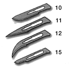 Ribbel Surgical Blades
