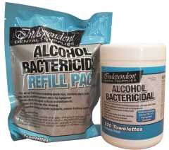 IDS ALCOHOL BACTER WIPE REFILLS (Pkt 220)