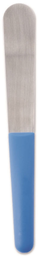 ALGINATE/PLASTER SPATULA CURVED AS455